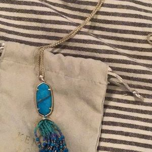 Beautiful turquoise necklace by Kendra Scott